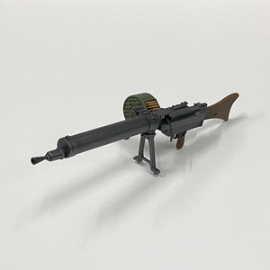 1/6 figure parts: WWII Germany MG08 Machine Gun (25W0001)