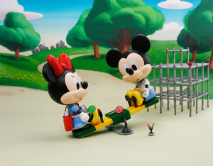 Disney Play Buddies Collection - Playground Series (Minnie) Playset