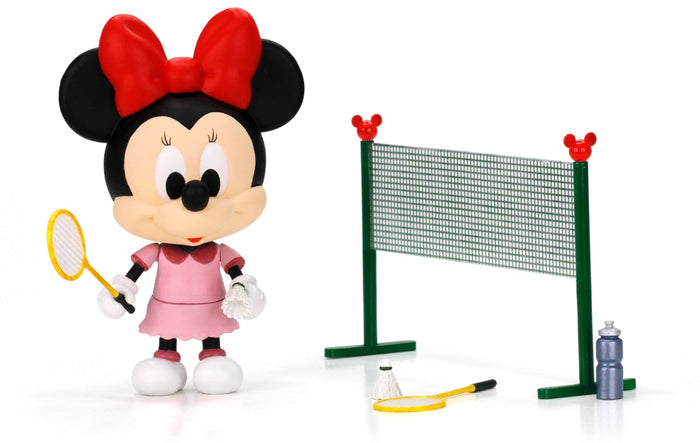 Disney Play Buddies Collection -P.E. Series (Minnie @ Badminton) Playset