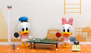 Disney Play Buddies Collection - P.E. Class Series (Donald @ Ping Pong) Playset