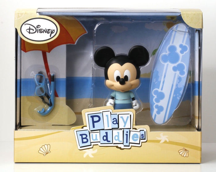 Disney Play Buddies Collection - Summer Vacation Series (Mickey @ Surfing) Playset