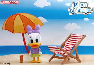 Disney Play Buddies Collection - Summer Vacation Series (Daisy @ Sunbathing) Playset