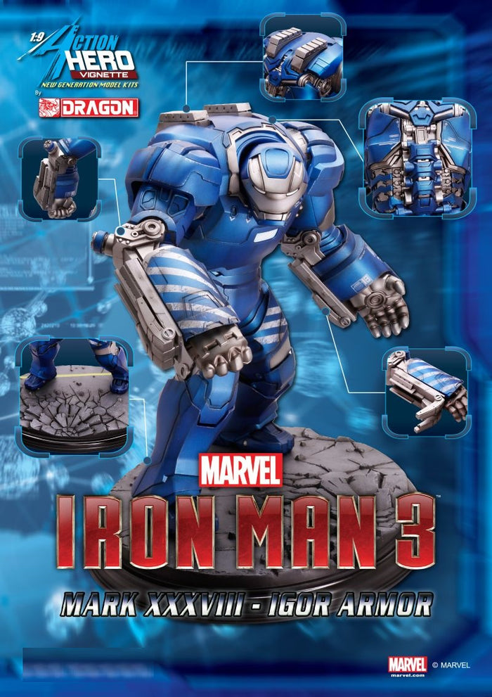 1/9 ACTION HERO VIGNETTE IRON MAN 3 IGOR