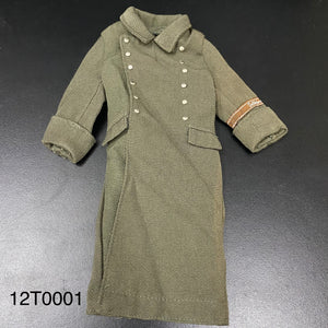 1/6 figure parts: Great Coat, WW2, Germany (12T0001)