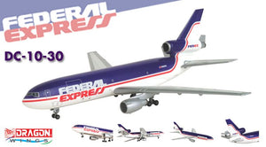 1/400 Federal Express DC-10-30 ~ N322FE (Old Livery)