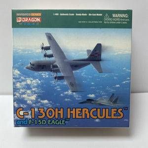 1/400 C-130H Hercules and F-15D Eagle