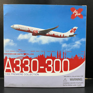 "1/400 A330-300 AirAsia ""Now Everyone Can Fly Extra Long"""