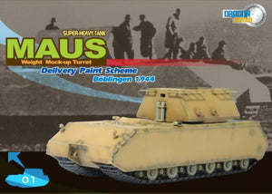 1/72 German Super Heavy Tank M.U.T. Maus, Boblingen 1944