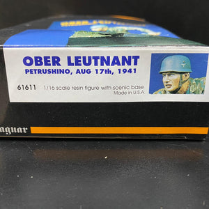 Jaguar Models 61611 - 1/16 OBER LEUTNANT PETRUSHINO, AUG 17th, 1941