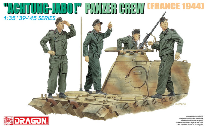 "1/35 ""ACHTUNG-JABO!"" PANZER CREW (FRANCE 1944)"