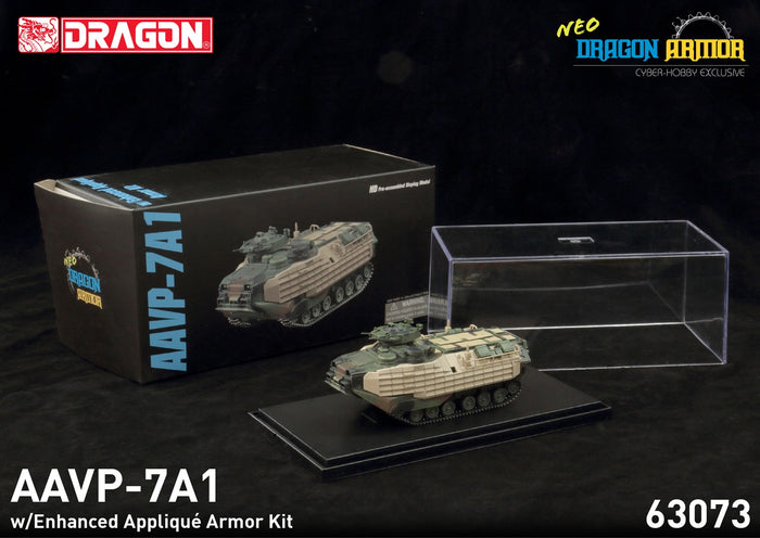 63073 - 1/72 AAVP-7A1 w/Enhanced Applique Armor Kit