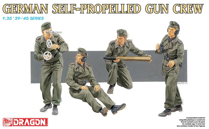 1/35 German Self-Propelled Gun Crew