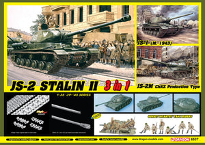 1/35 JS-2 Stalin II (3 in 1) + Soviet Infantry Tank Riders