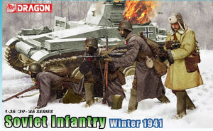 1/35 SOVIET INFANTRY WINTER 1941