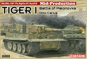 1/35 Tiger I Mid-Production w/Zimmerit Otto Carius (Battle of Malinava Village 1944)