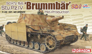 1/35 Sd.Kfz.166 Stu.Pz.IV 'Brummbär' Mid-Production w/Zimmerit (2 in 1)