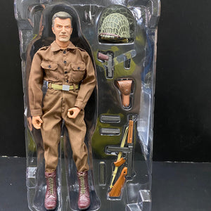 "1/6 WWII U.S. Army 35th Infantry Division (Private) ""Kelly"", France 1944"