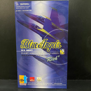 "1/6 ""Rich"" Blue Angels U.S. NAVY Flight Demonstration Squadron"