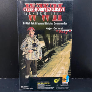 "1/6 WWII ARNHEM 1944, BRITISH 1ST AIRBORNE DIVISION COMMANDER, MAJOR GENERAL""ROY"""