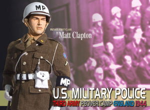 "1/6 ""Matt Clapton"", U.S. Military Police, Third Army, Peover Camp, England 1944 (Private First Class)"