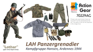 "1/6 Dragon Original Action Gear for ""Lothar"", LAH Panzergrenadier Kampfgruppe Hansen , Ardennes 1944"