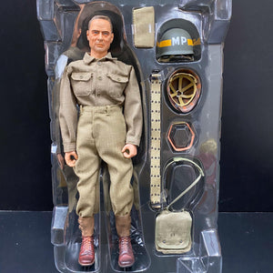 "1/6  WWII American ""Lou"", U.S. Army Military Police, 8th Infantry Division, Brittany 1944 (Corporal)"