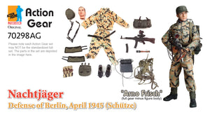 "1/6 Dragon Original Action Gear for ""Arno Frisch"", Nachtjager, Defense of Berlin, April 1945 (Schutze)"