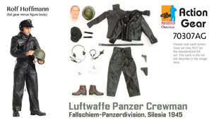 1/6 Dragon Original Action Gear for Rolf Hoffmann, Luftwaffe Panzer Crewman, Fallschiem-Panzerdivision, Silesia 1945