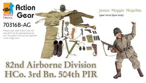 "1/6 Dragon Original Action Gear for ""James Maggie Megellas"" 82nd Airborne Division HCo. 3rd Bn. 504th PIR"