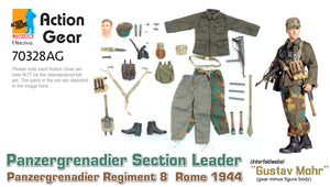 "1/6 Dragon Original Action Gear for ""Gustav Mohr"", Panzergrenadier Section Leader, Panzergrenadier Regiment 8, Rome 1944 (Unterfeldwebel)"