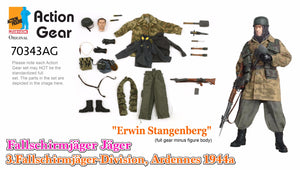 "1/6 Dragon Original Action Gear for ""Erwin Stangenberg"", Fallschirmjager Jager, 3.Fallschirmjager-Division, Ardennes 1944 (Version 2)"