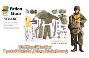 "1/6 Dragon Original Action Gear for ""Frank Laird"",101st Airborne Division Officer ""Operation Market Garden"",Eindhoven 1944 (1st Lieutenant)"