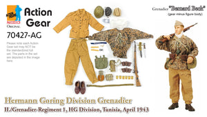 "1/6 Dragon Original Action Gear for Grenadier ""Bernard Beck"", Hermann Goring Division Grenadier, II./Grenadier-Regiment 1, HG Division, Tunisia, April 1943"