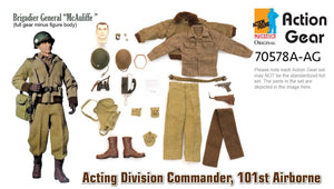 "1/6 Dragon Original Action Gear for Brigadier General ""McAuliffe"" Acting Division Commander, 101st Airborne"