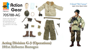 "1/6 Dragon Original Action Gear for Colonel ""Kit Carson"" Acting Division G-3 (Operations) 101st Airborne Bastogne"