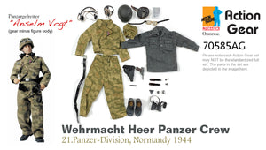 "1/6 Dragon Original Action Gear for Panzergefreiter ""Anselm Vogt"", Wehrmacht Heer Panzer Crew, 21.Panzer-Division, Normandy 1944"