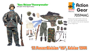 "1/6 Dragon Original Action Gear for ""Hans Meisser"", Panzergrenadier, 12.Panzer.Division ""HJ"", Falaise 1944"