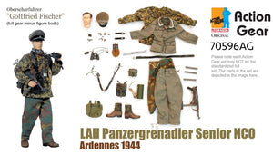 "1/6 Dragon Original Action Gear for Oberscharfuhrer ""Gottfried Fischer"" LAH Panzergrenadier Senior NCO Ardennes 1944 (DX Special)"