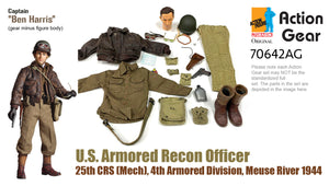 "1/6 Dragon Original Action Gear for Captain ""Ben Harris"", U.S. Armored Recon Officer, 25th CRS (Mech), 4th Armored Division, Meuse River 1944"