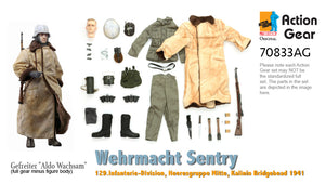 "1/6 Dragon Original Action Gear for Gefreiter ""Aldo Wachsam"", Wehrmacht Sentry, 129.Infanterie-Division, Heeresgruppe Mitte, Kalinin Bridgehead 1941 (DX11 Exclusive)"