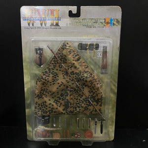 1/6 German Camo Zeltbahn & Field Accessories Set 2
