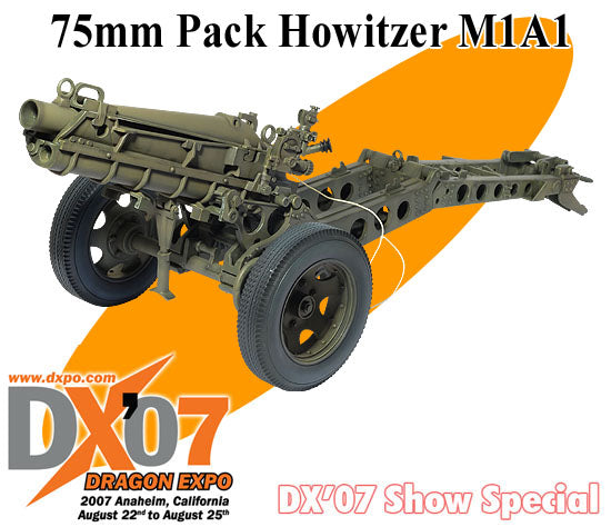 1/6 75mm Pack Howitzer M1A1 (DX07 Show Special)