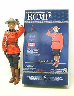 "1/6 ""John Steele"" Royal Canadian Mounted Police (RCMP)"