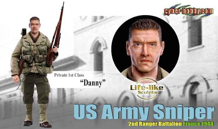 1/6 Danny US Army Sniper, 2nd Ranger Battalion France 1944 (Private 1st Class)