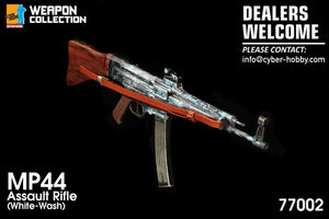 Dragon 1/6 Weapon Collection - MP44 Assault Rifle (White Wash)