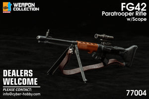 Dragon 1/6 Collection - FG 42 Paratrooper Rifle with Scope