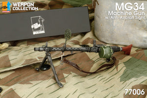 Dragon 1/6 Collection - MG34 Machine Gun Anti-Aircraft Sight w/Ammo Drum
