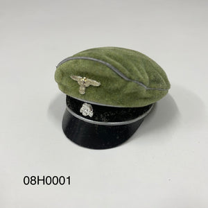 1/6 figure parts: Hat, WW2, Germany (08H0001)
