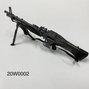 1/6 figure parts: M60 E3 Machine Gun (20G0002)