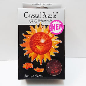 Crystal Puzzle 3D Jigsaw Puzzle - Sun (40 pieces)